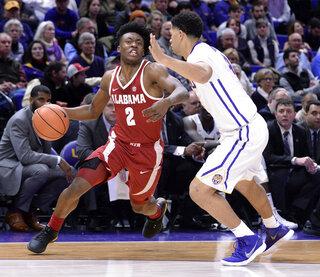 Alabama LSU Basketball
