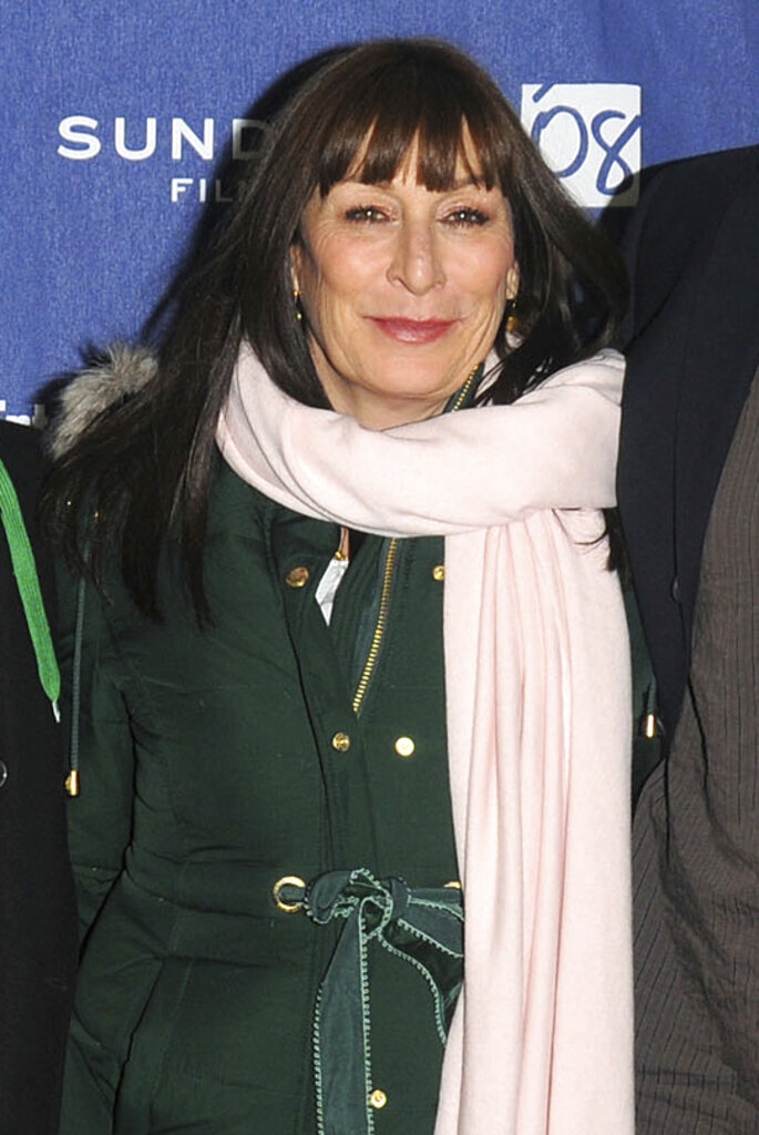 In this Jan. 21, 2008 photo, actress Angelica Houston arrives at the premiere of