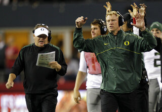 Chip Kelly, Scott Frost