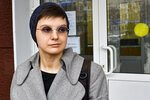 "Feminist activist and artist Yulia Tsvetkova leaves after a court session in Komsomolsk-on-Amur, Russia, Monday, April 12, 2021. A Russian court on Monday opened the trial of Yulia Tsvetkova charged with disseminating pornography after she shared artwork depicting female genitalia online -- a case in line with the Kremlin's conservative stance promoting ""traditional family values."" (AP Photo/Alexander Permyakov)"