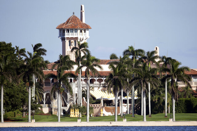 FILE - This Nov. 21, 2016, file photo, shows the Mar-a-Lago resort owned by President-elect Donald Trump in Palm Beach, Fla. There was an unspecified incident involving the Secret Service at  Mar-a-Lago club in Florida, but authorities would not say Tuesday, Jan. 7, 2020, what happened. Palm Beach police records show officers were called to Mar-a-Lago on Monday night, Jan. 6, to assist the Secret Service but most of the report is redacted, including the name of the individual who was contacted. (AP Photo/Lynne Sladky, File)