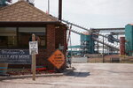 In this Thursday, Sept. 5, 2019 photo shows the entrance to the Blue Ayr Mine south of Gillett, Wyo. The shutdown of Blackjewel LLC's Belle Ayr and Eagle Butte mines in Wyoming since July 1,2019, has added yet more uncertainty to the Powder River Basin's struggling coal economy. (AP Photo/Mead Gruver)