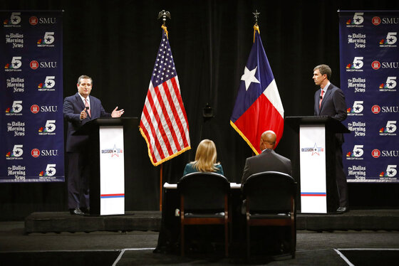 Election 2018 Senate Texas Debate Canceled