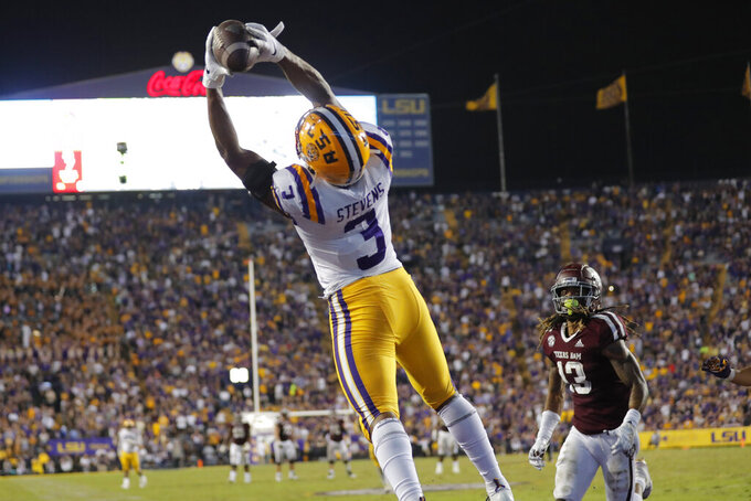 No. 1 LSU sees hope for maligned defense in SEC title game