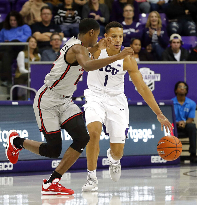 Bane leads across board as TCU eases past Illinois St 81-69