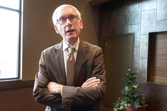 Wisconsin Democratic Gov. Tony Evers says he doesn't believe Republicans are