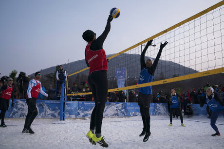 Pyeongchang Olympics Snow Volleyball
