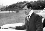 FILE - In this July 22, 1969 file photograph, U.S Sen. Edward Kennedy, D-Mass., arrives back home in Hyannis, Mass., after attending the funeral of Mary Jo Kopechne in Pennsylvania. Kopechne drowned when a car driven by Kennedy went off a bridge on Chappaquiddick Island, at the eastern end of Martha's Vineyard. It's been 50 years since the fateful automobile accident that killed a woman and thwarted Kennedy's presidential aspirations. (AP Photo/Frank C. Curtin, File)