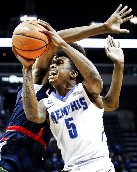 UConn Memphis Basketball