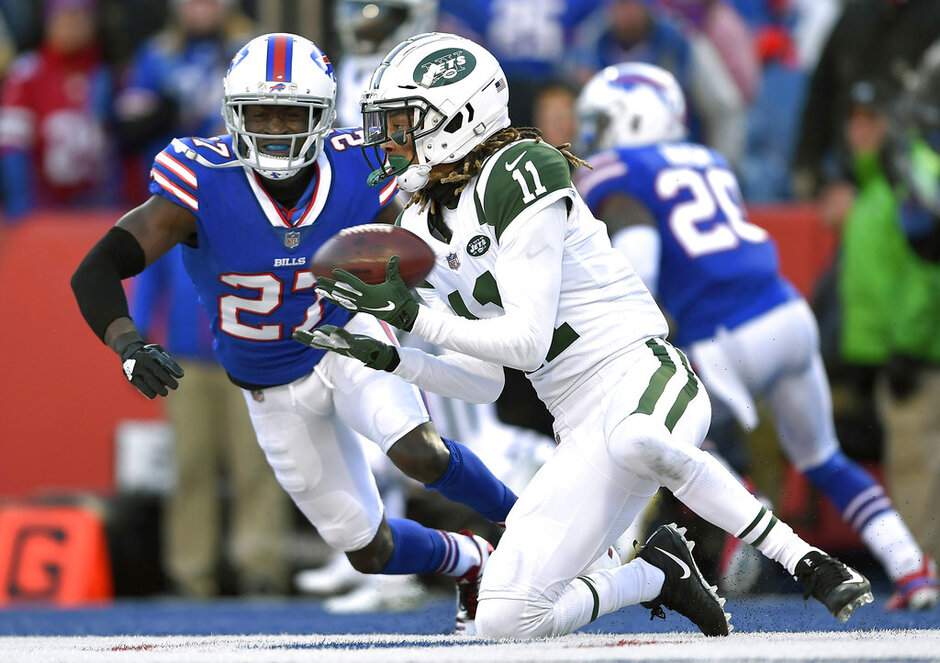 APTOPIX Jets Bills Football