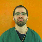 File- This undated file photo provided by the Ohio Department of Rehabilitation and Correction shows Greg Reinke. Reinke, who stabbed four fellow prisoners and a guard in separate bloody attacks, is on a hunger strike inside Ohio's toughest prison, alleging mistreatment. Reinke is housed at the state's supermax prison in Youngstown. He says he's being harassed by guards, denied proper recreation time and lives in a bare cell with no place to put his clothes. Sara French is a spokeswoman with the Department of Rehabilitation and Correction. She confirms Reinke has missed 14 meals as of Tuesday, April 16, 2019, meeting the agency's definition of a hunger strike. French denied Reinke is being mistreated. (Ohio Department of Rehabilitation and Correction via AP, File)