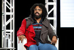 Daveed Diggs speaks at the