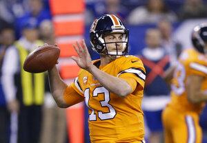 Broncos Colts Football
