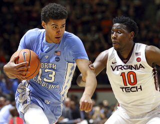 North Carolina Virginia Tech Basketball