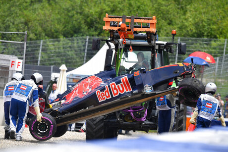 Austria F1 GP Auto Racing