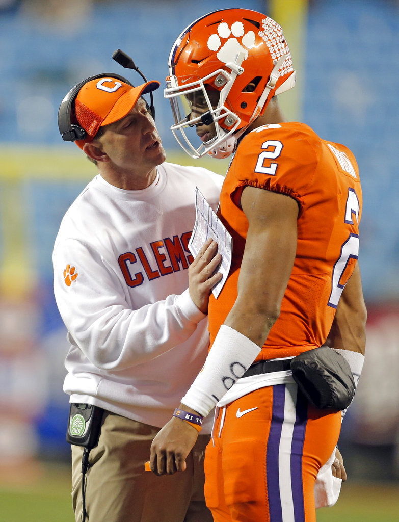 Dabo Swinney, Kelly Bryant