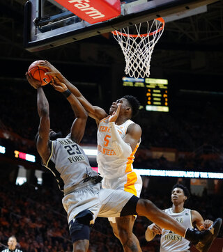 Wake Forest Tennessee Basketball