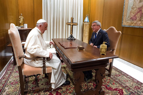 Vatican Pope IOC
