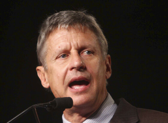 Senate New Mexico Gary Johnson