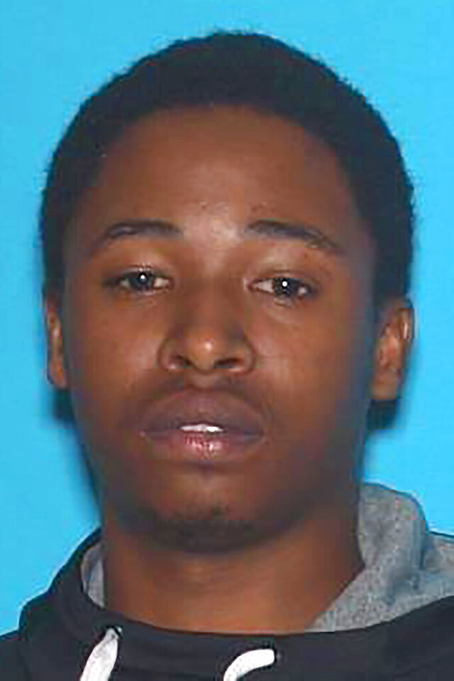 This undated photo provided by the Kansas City Police Department shows Jahron Swift. Swift, who opened fire late Sunday, Jan. 19, 2020, outside a Kansas City nightclub, killing a woman and injuring over a dozen people before a guard killed him, had a past weapons charge dropped after lawmakers loosened the state's gun laws. (Kansas City Police Department via AP)