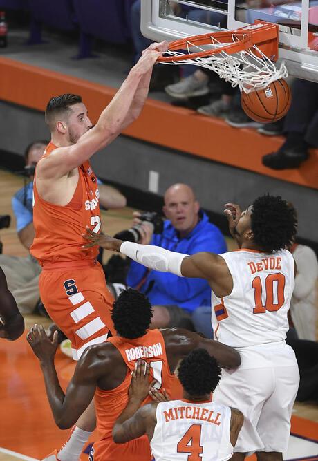 Clemson Syracuse Basketball