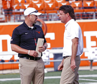Tom Herman, Mike Gundy