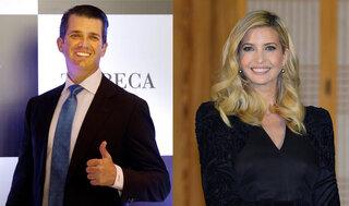 Donald Trump Jr., Ivanka Trump