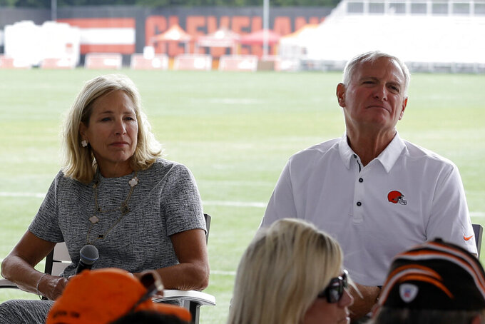 Browns owners confident, optimistic about season