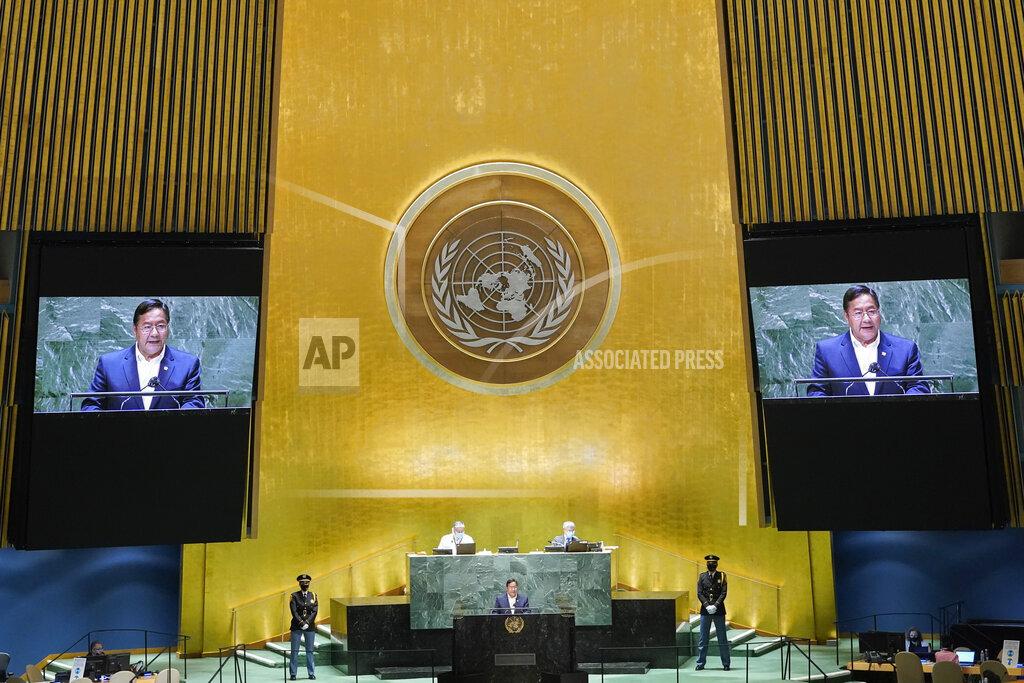 UN General Assembly Bolivia