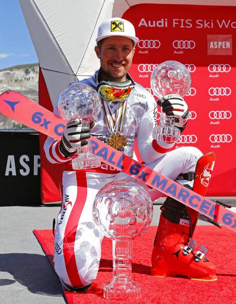Hirscher Elusive Gold Skiing