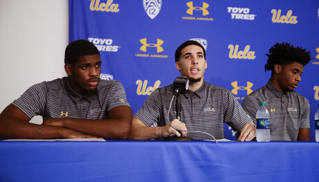 Cody Riley, LiAngelo Ball, Jalen Hill,