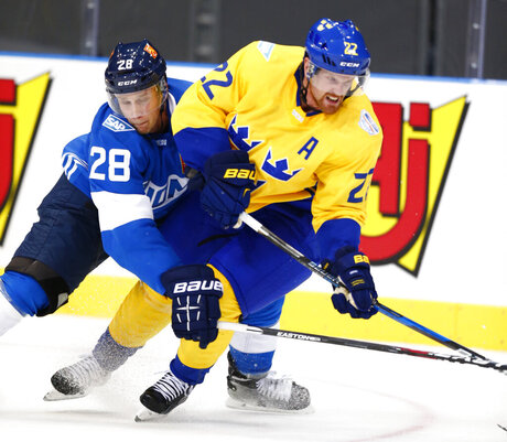Sweden Finland Ice Hockey