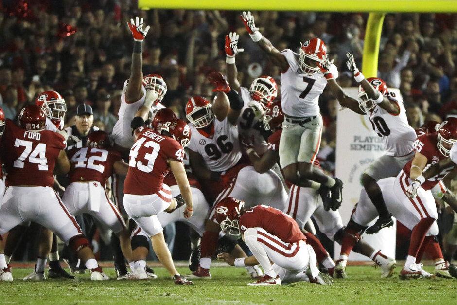 APTOPIX Rose Bowl Football