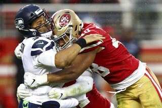 APTOPIX Seahawks 49ers Football