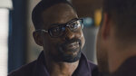 """This image released by NBC shows Sterling K. Brown in a scene from """"This Is Us."""" Brown is nominated for an Emmy Award for outstanding leading actor in a drama series. (NBC via AP)"""