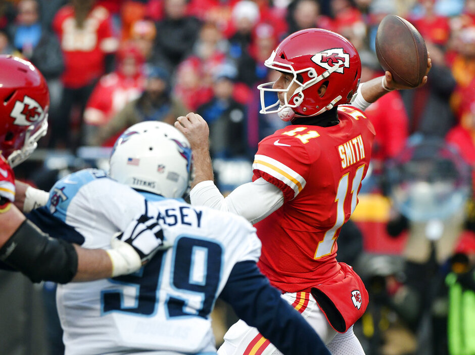 Alex Smith, Eric Fisher, Jurrell Casey