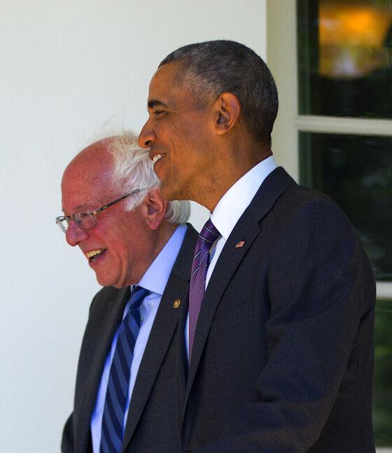 Barack Obama,Bernie Sanders