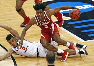 NCAA Alabama Virginia Tech Basketball