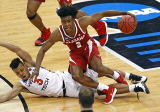 NCAA Alabama Virginia Tech Basketball