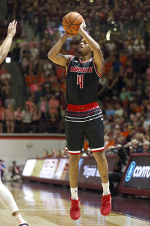 Louisville Virginia Tech Basketball