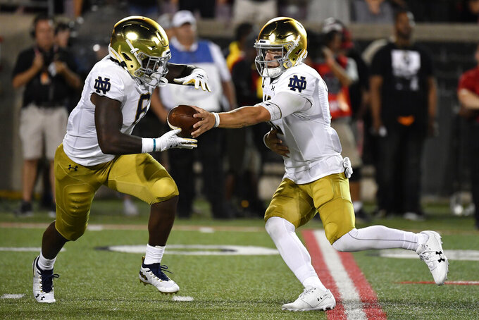 No. 7 Notre Dame entertains first-time foe New Mexico