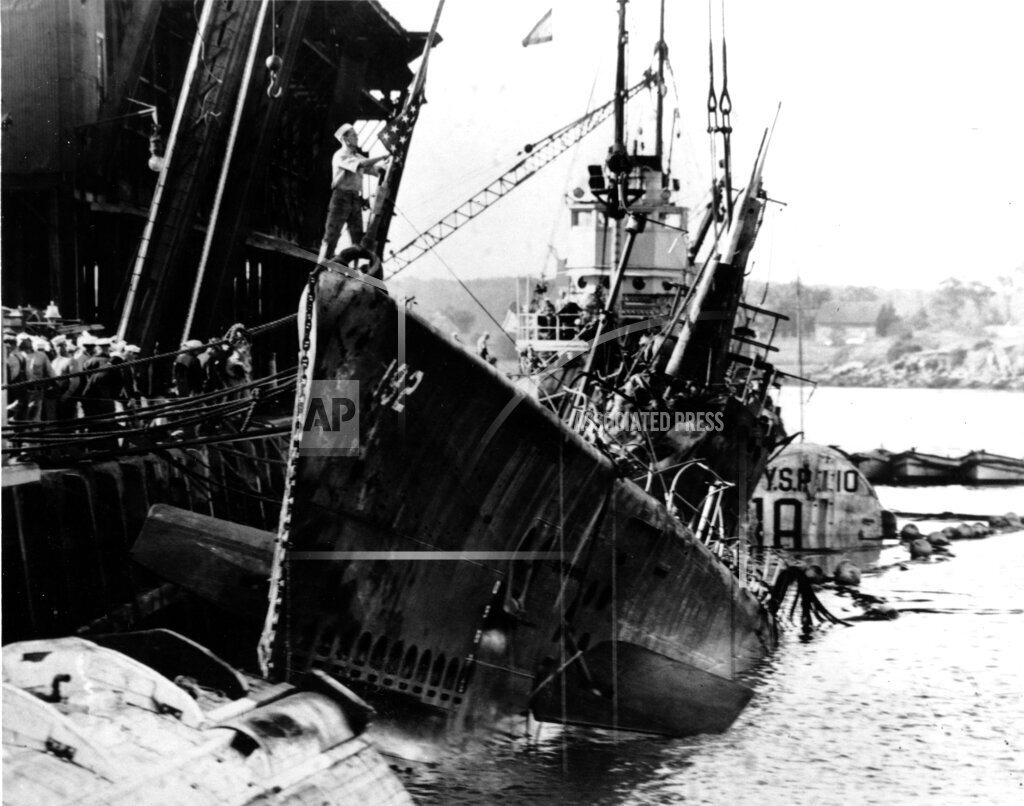 Associated Press Domestic News New Hampshire United States USS SQUALUS DISASTER