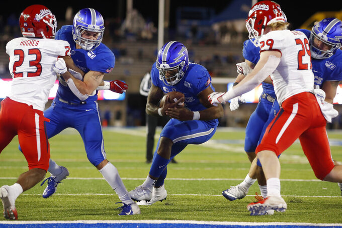 Hammond's 2 TD runs help Air Force beat Fresno State 43-24