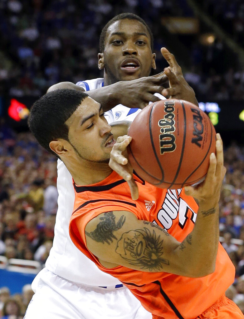 APTOPIX NCAA Final Four Kentucky Louisville Basketball