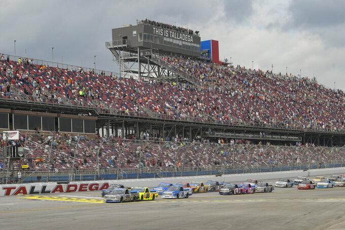 NASCAR Camping World Truck Series at Talladega