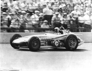 Indy 500 1962 Countdown Race 46 Auto Racing