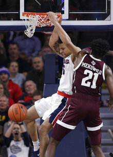 Texas A M Gonzaga Basketball