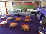 In 2017, the dining room at the Clemson Football Facility in Clemson, S.C.. ( Ken Ruinard / Gannett/USA Today Network )/The Independent-Mail via AP)