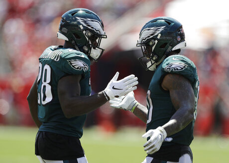 Corey Clement, Wendell Smallwood