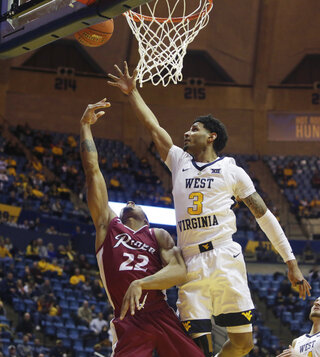 Rider West Virginia Basketball